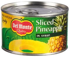 Ananas Del Monte - plastry w syropie