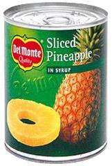 Ananas w plastrach w syropie Del Monte
