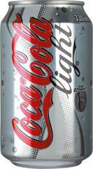 Coca-Cola light puszka  0,33l