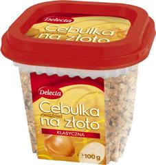 Cebulka Delecta smażona na złoto