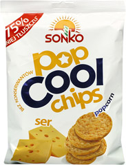 Chipsy Popcornowe Popcool Ser