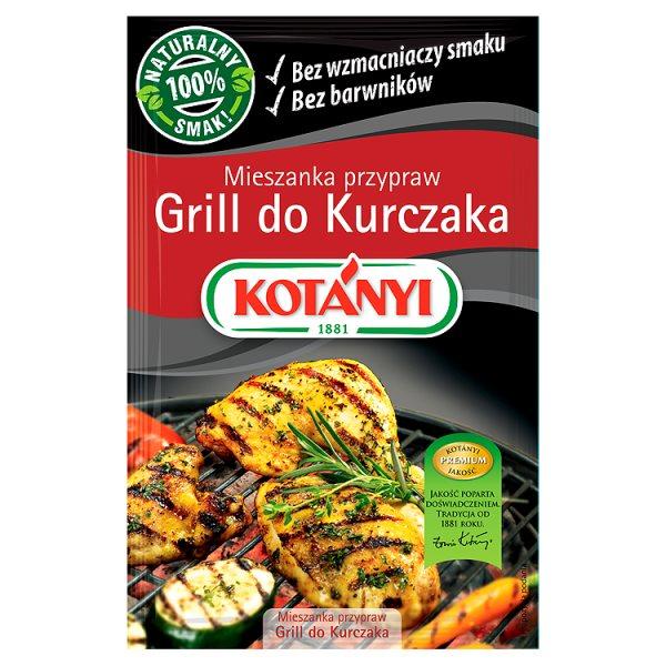 Kotányi Mieszanka przypraw Grill do Kurczaka 22 g