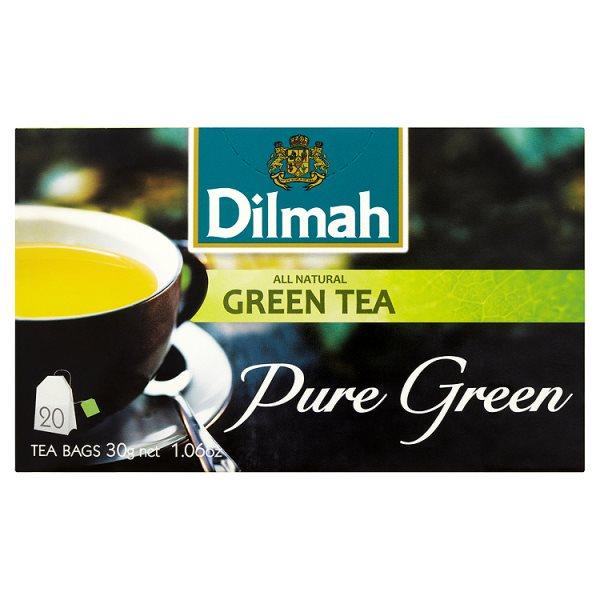 Dilmah Herbata zielona 30 g (20 torebek)