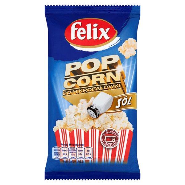 Felix Popcorn solony do mikrofalówki 90 g