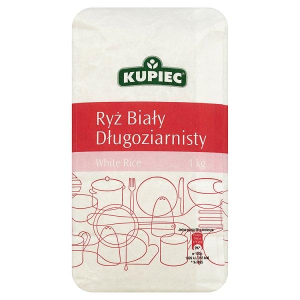 Kupiec Ryż biały długoziarnisty 1 kg