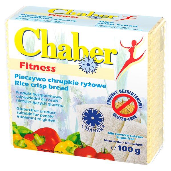 Chaber Pieczywo chrupkie ryżowe fitness 100 g