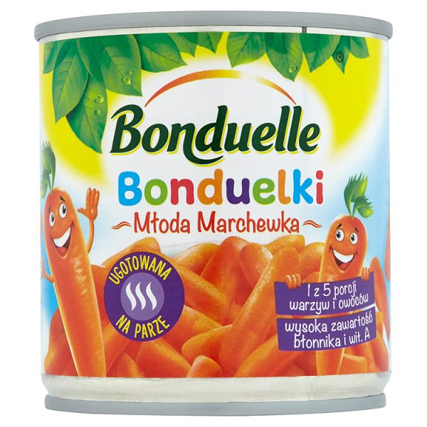Bonduelle Bonduelki Młoda marchewka 155 g