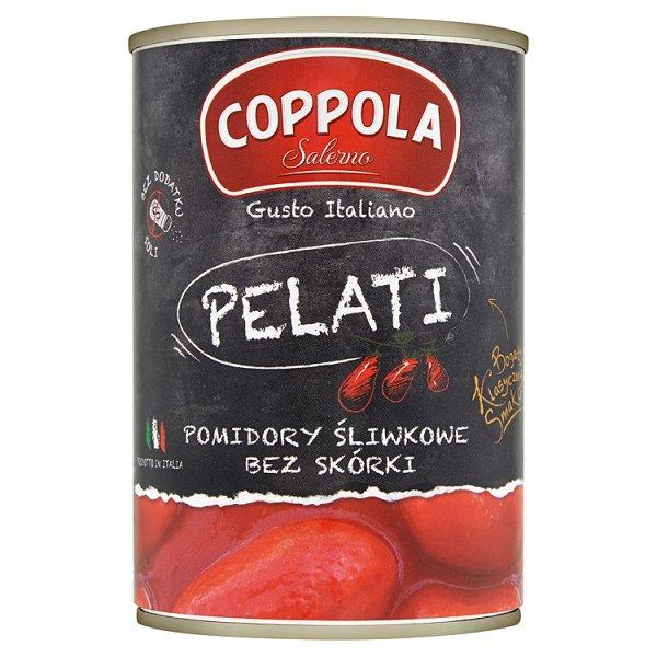Coppola Pomidory śliwkowe bez skórki 400 g