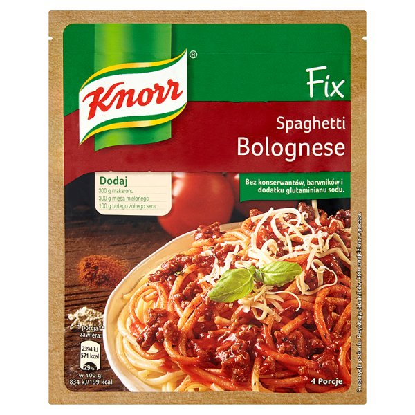 Knorr Fix Spaghetti Bolognese 44 g