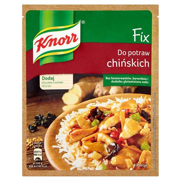 Knorr Fix Do potraw chińskich 39 g