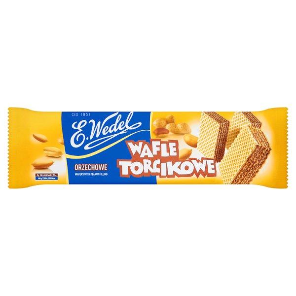 E. Wedel Wafle Torcikowe orzechowe 160 g