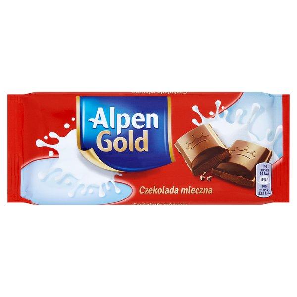 Alpen Gold Czekolada mleczna 90 g