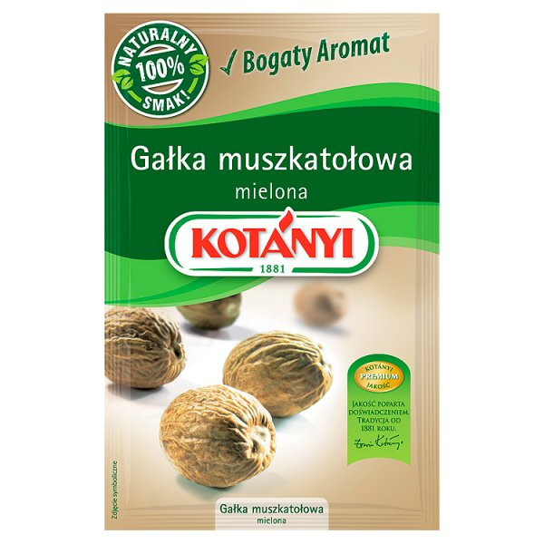 Kotányi Gałka muszkatołowa mielona 17 g