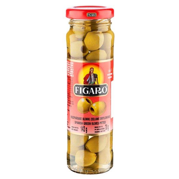 Figaro Hiszpańskie oliwki zielone drylowane 142 g