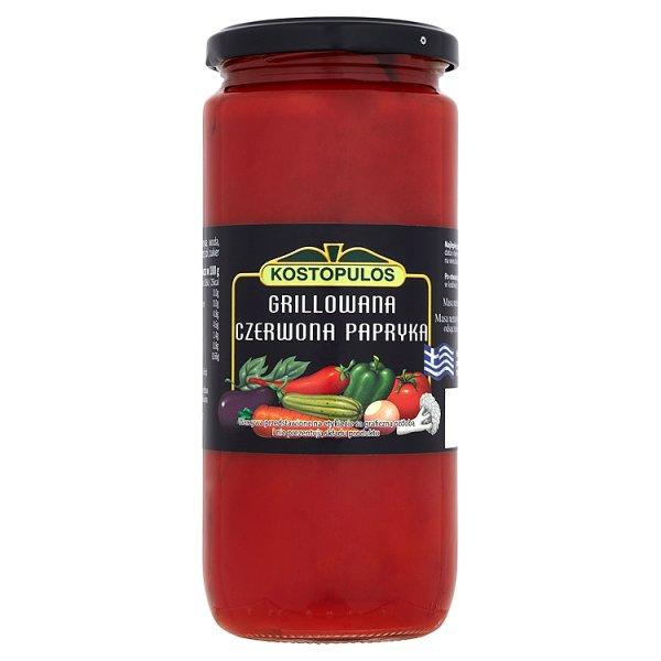 Kostopulos Grillowana czerwona papryka 480 g