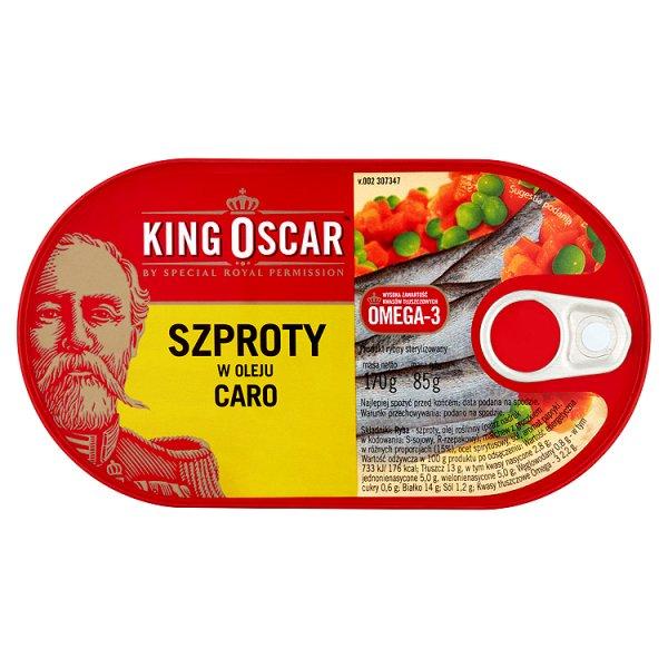 King Oscar Szproty w oleju Caro 170 g