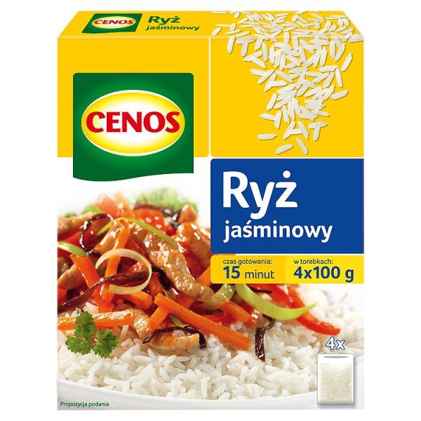 Cenos Ryż jaśminowy 400 g (4 torebki)
