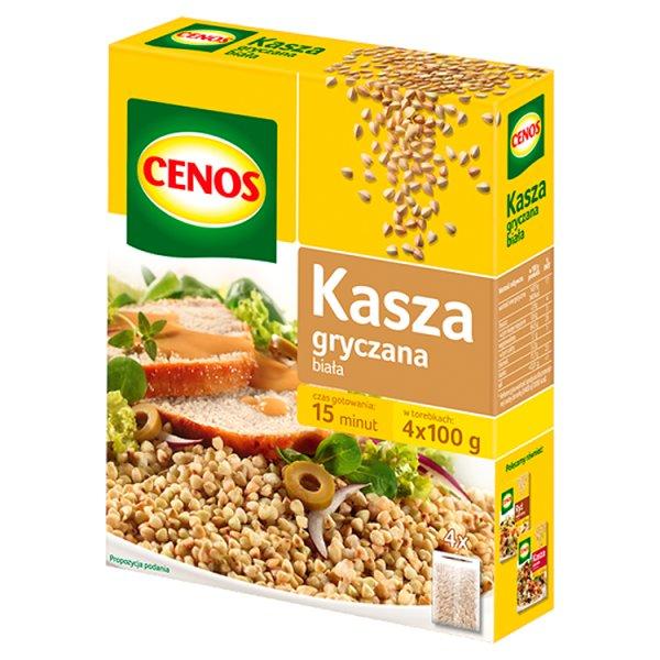 Cenos Kasza gryczana biała 400 g (4 torebki)