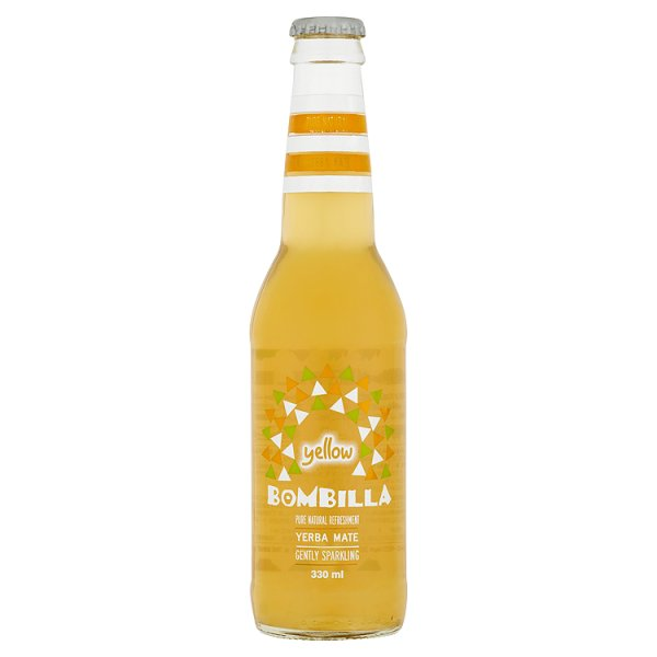 Bombilla Yellow Napój mate o smaku mirabelki 330 ml