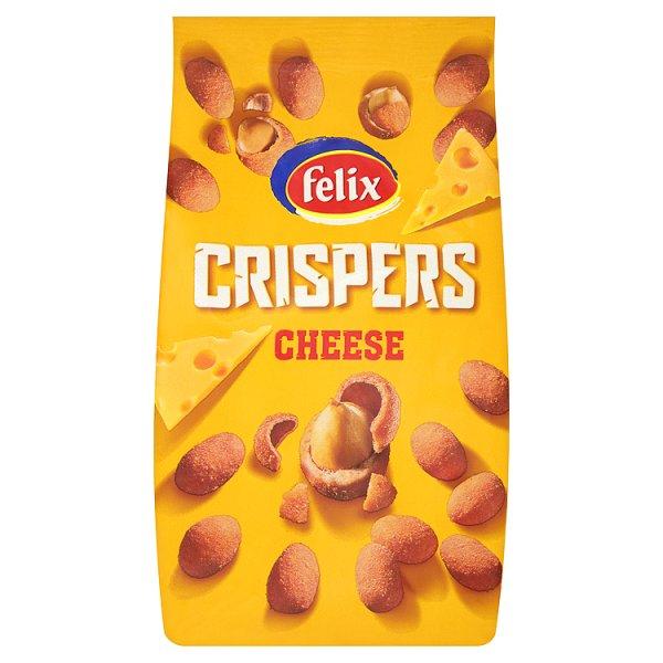 Felix Crispers Orzeszki ziemne smażone w skorupce o smaku serowym 140 g
