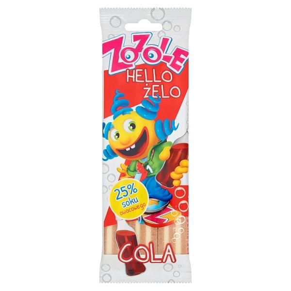 Zozole Hello Żelo Cola Żelki 75 g