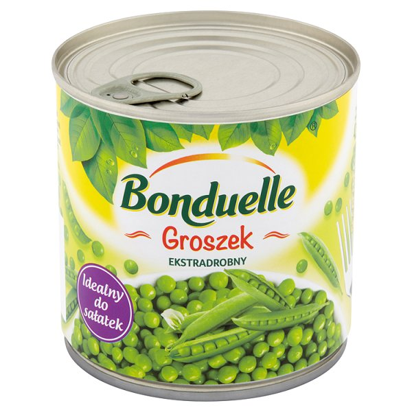 Bonduelle Groszek ekstradrobny 400 g