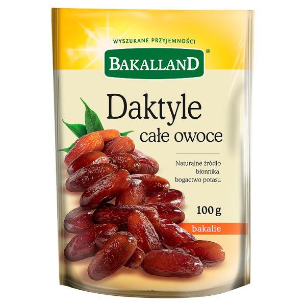 Bakalland Daktyle całe owoce 100 g