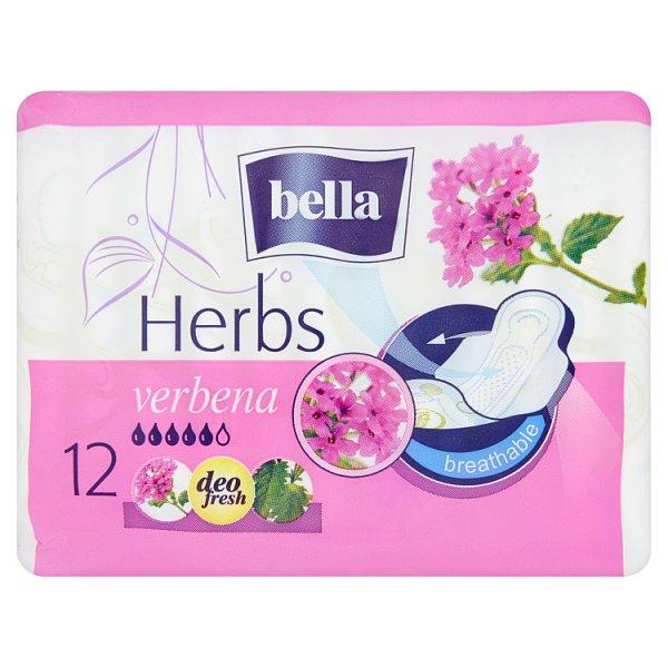 Bella Herbs Verbena Podpaski higieniczne 12 sztuk