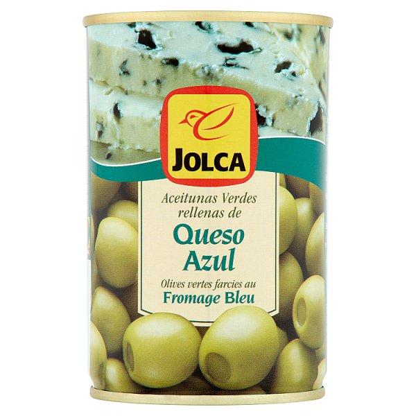 Jolca Oliwki zielone manzanilla nadziewane serem pleśniowym 300 g