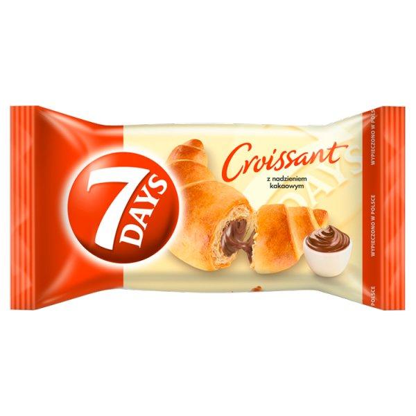 7 Days Croissant z nadzieniem kakaowym 60 g