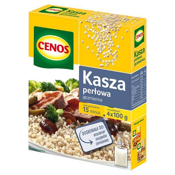 Cenos Kasza jęczmienna perłowa 400 g (4 torebki)