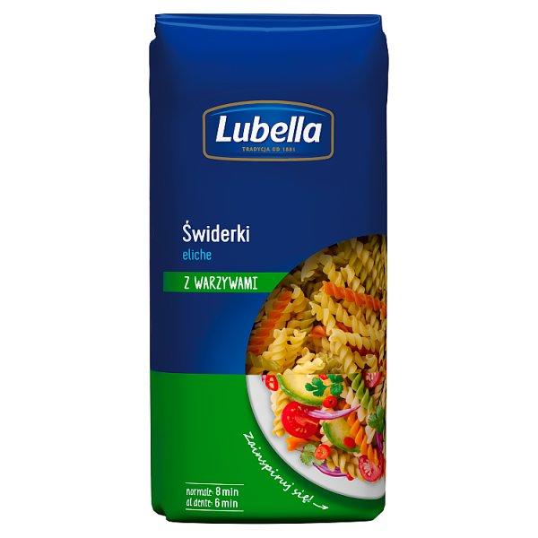 Lubella Makaron świderki z warzywami eliche 400 g