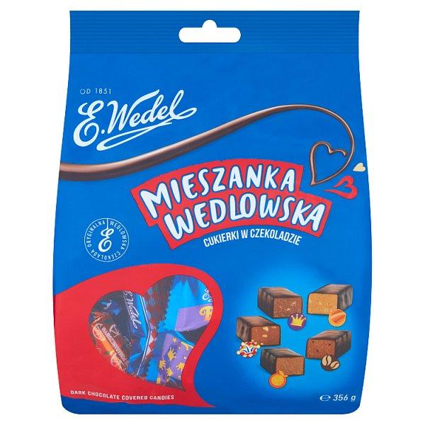 E. Wedel Mieszanka Wedlowska Cukierki w czekoladzie deserowej 356 g