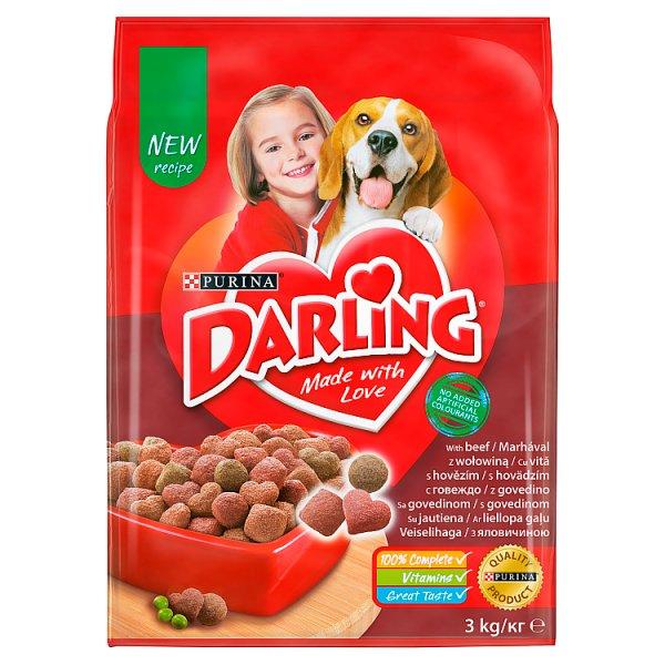 Darling Karma dla dorosłych psów z wołowiną 3 kg