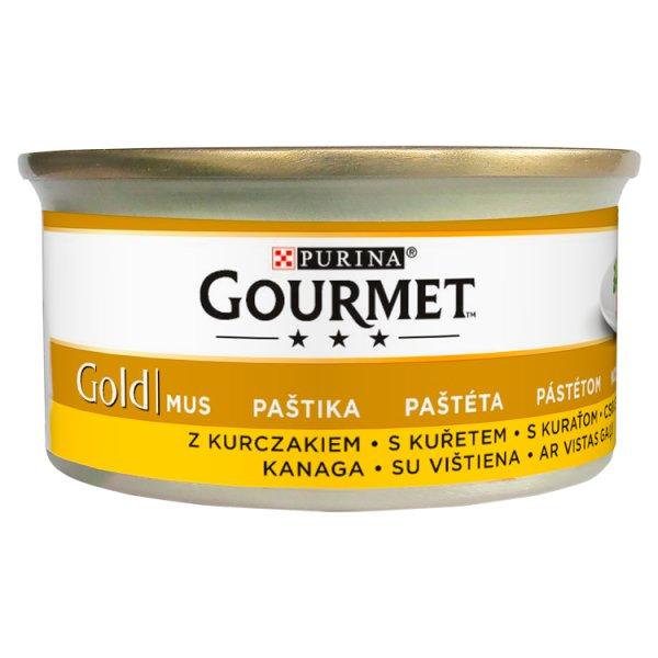 Gourmet Gold Karma dla kotów mus z kurczakiem 85 g