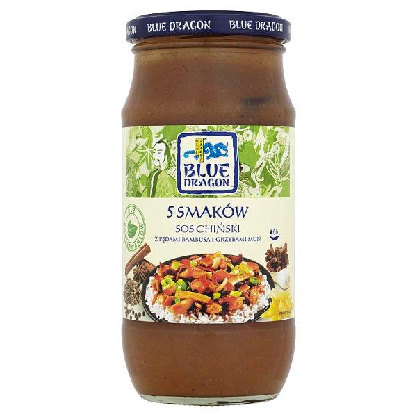 Blue Dragon Sos chiński 5 smaków 425 g