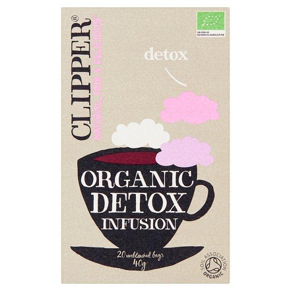 Clipper Herbata oczyszczająca organiczna 40 g (20 torebek)
