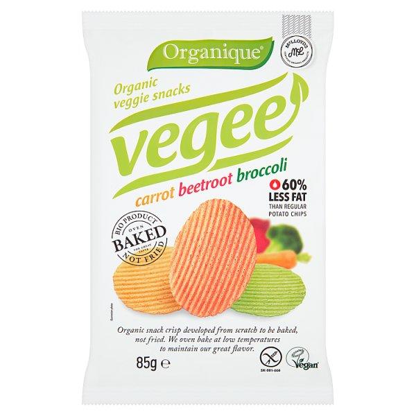 Organique Ekologiczne pieczone chipsy warzywne 85 g