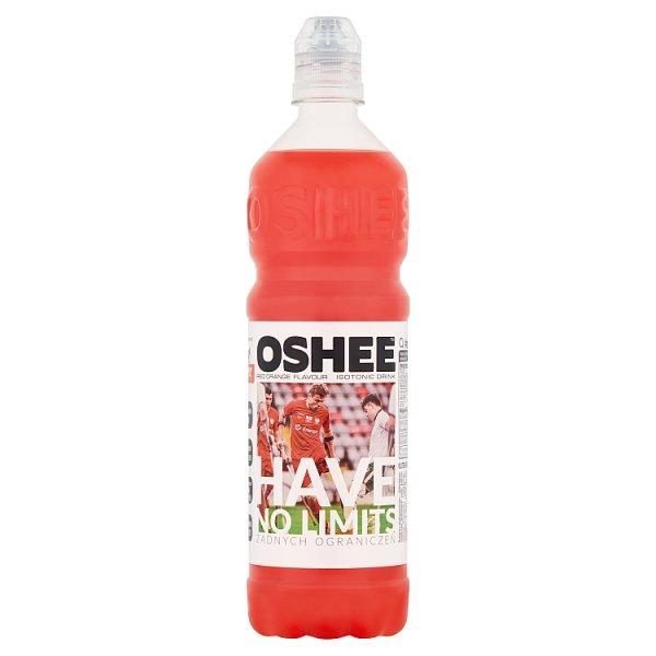 Oshee Napój izotoniczny niegazowany o smaku czerwonej pomarańczy 0,75 l