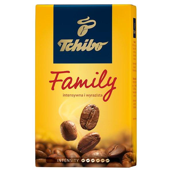 Tchibo Family Kawa palona mielona 250 g