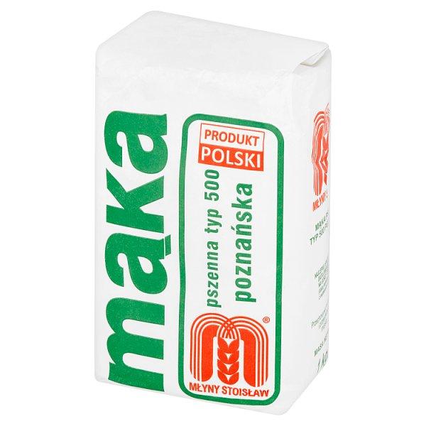 Młyny Stoisław Mąka pszenna poznańska typ 500 1 kg