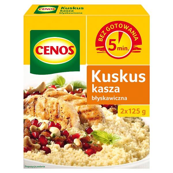 Cenos Kuskus kasza błyskawiczna 250 g (2 torebki)