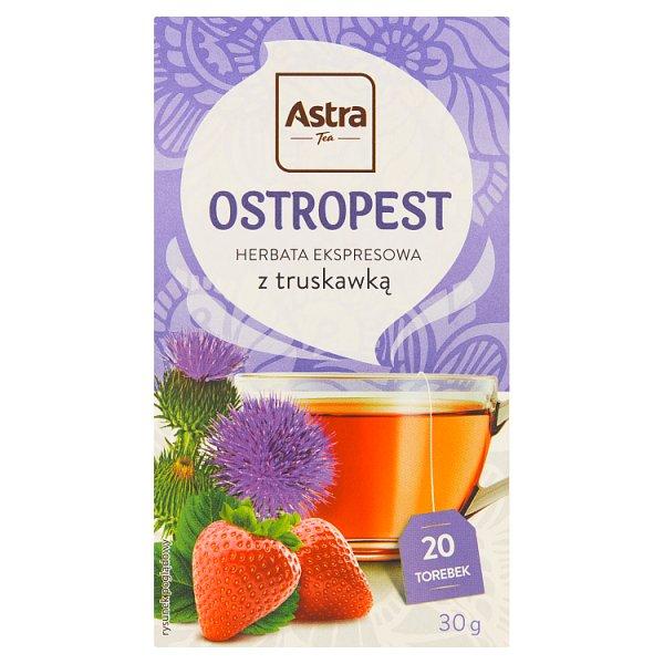 Astra Herbata ekspresowa ostropest z truskawką 30 g (20 x 1,5 g)