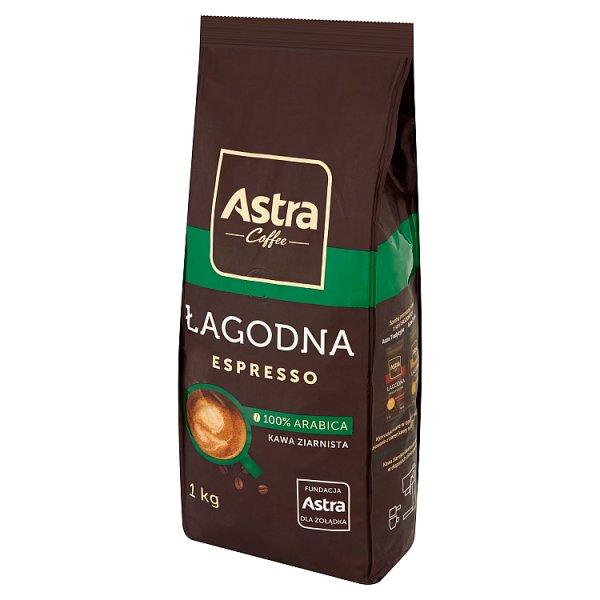 Astra Łagodna Espresso Kawa ziarnista 1 kg