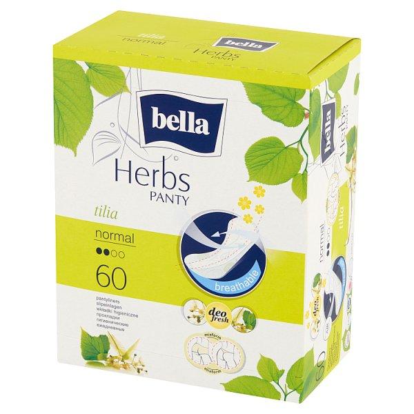 Bella Herbs Panty Tilia Normal Wkładki higieniczne 60 sztuk
