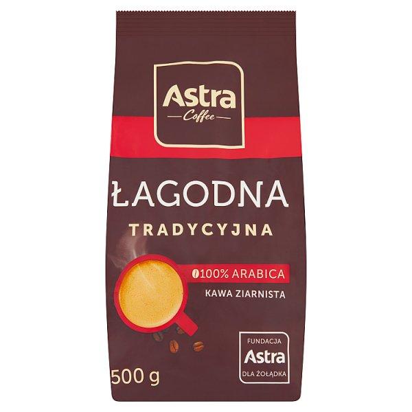 Astra Łagodna Tradycyjna kawa ziarnista 500 g