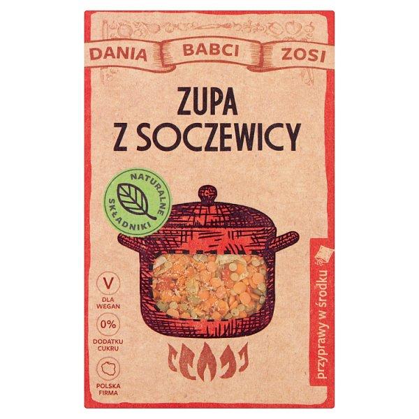 Dania Babci Zosi Zupa z soczewicy 110 g