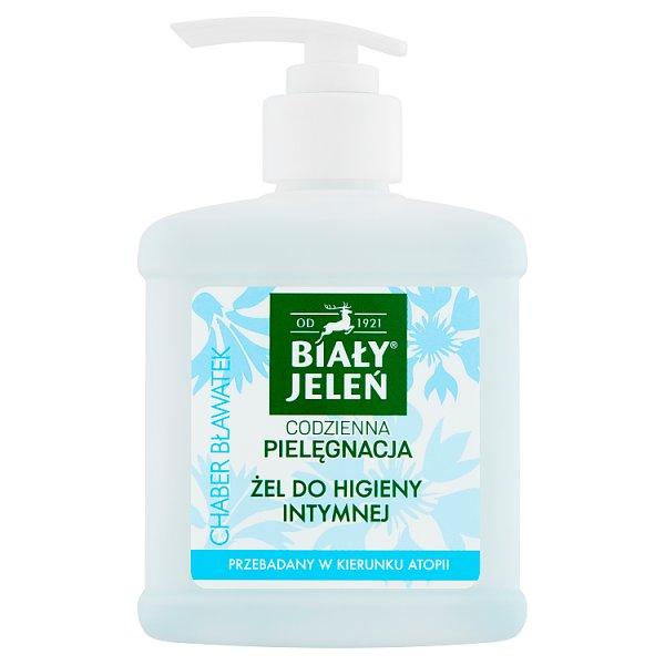 Biały Jeleń Żel do higieny intymnej chaber bławatek 500 ml