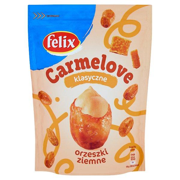 Felix Carmelove Orzeszki ziemne w karmelu klasyczne 160 g