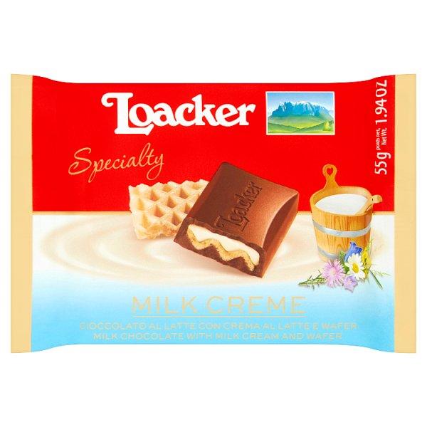 Loacker Milk Creme Czekolada mleczna 55 g
